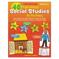 40 Fabulous Social Studies Activities, 64 Pages