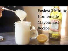 Easiest 3 Minute Homemade Mayonnaise (Paleo, Whole30) — Tastes Lovely