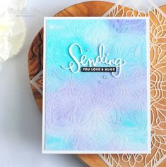 VIDEO | Embossing With Stencils
