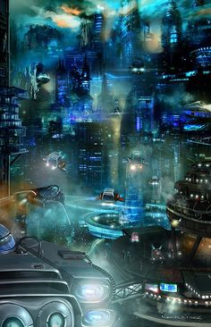 """Tianzi Galaxy"" by #EbruCetiner.  #sciencefiction #scifi"