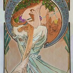 4c07a332d90f9 35 Best Mucha and More Art Nouveau images in 2019 | Background ...