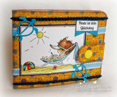 Stempeleinmaleins: Portmonnaie Karte / Wallet Card