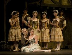 Elena Glurdjidze and Artists of English National Ballet in Mary Skeaping's Giselle. Photo: ENB