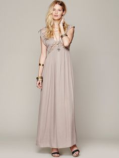 Blesse'd are the Meek San Jose Maxi Dress at Free People Clothing Boutique