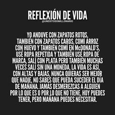 Image may contain: text Inspirational Phrases, Motivational Phrases, Spanish Phrases, Spanish Quotes, Frases Instagram, Best Quotes, Life Quotes, Thinking Quotes, Life Motivation
