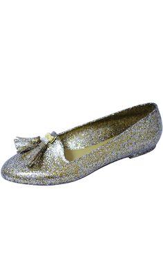 Black Glitter & Tassel Jelly Slipper Flats   Price: £9.00 http://www.riskyfashions.com/p/Black-Glitter-andamp;-Tassel-Jelly-Slipper-Flats_107.html