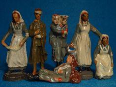 Elastolin Lazarettfiguren im 5,5 cm Maßstab | eBay