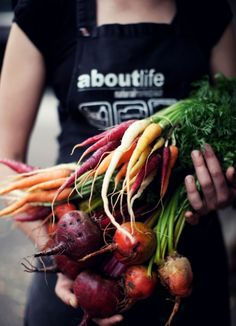 Wish I had a garden to grow gorgeous food like this!