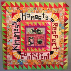 nifty quilts: Contentment - orphan blocks