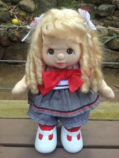 My Child Doll Blonde Mid Part