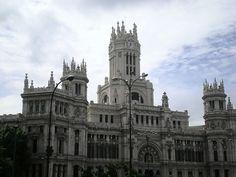 Palacio de Communicaciones by Flygstolen, via Flickr #Madrid #Spain #Spanien #City #Stad #Huvudstad #Travel #Resa #Resmål #Europe #Europa #PalaciodeCommunicaciones #Palaciode #Communicaciones