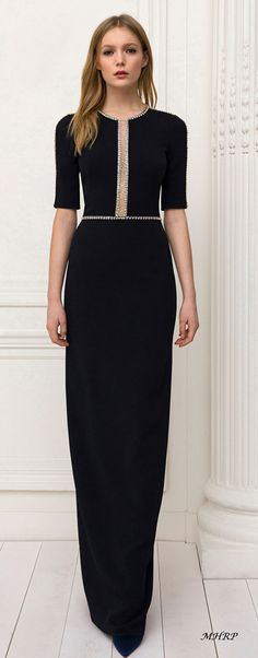Jenny-Packham-Pre-Fall-18_image pinned from vogue.com Dressy Dresses, Nice Dresses, Formal Dress, Beautiful Gowns, Beautiful Outfits, High Fashion, Womens Fashion, Madame, Dream Dress