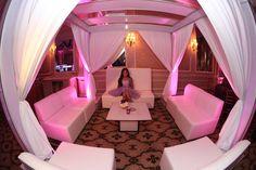 Cabana set up #batmitzvah #decor
