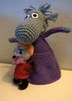 The Hemulen and Little My Little My, Crocheting, Crochet Hats, Teddy Bear, Toys, Animals, Amigurumi, Crochet, Knitting Hats