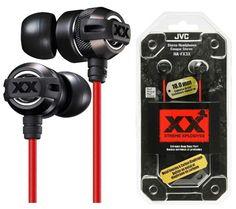 Слушалки JVC HA-FX3X Xtreme Xplosives  MP3 (Черни)