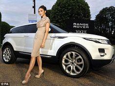 Range Rover Evoque interior designed by Victoria Beckham