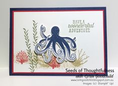 Seeds of Thoughtfulness with Lorin Goodchild Stampin' Up! 2018-2019 Annual Catalogue: Sea of Texture