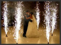 Wedding Fireworks a sparkling first dance to remember can be yours