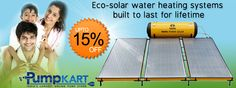 launching a new effective of various brands on very affordable prices Industrial Pumps, Solar Water Heating System