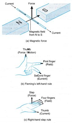 What is magnetic force on a current carrying conductor? - A Plus Topper Physics Lessons, Learn Physics, Physics Concepts, Basic Physics, Physics Formulas, Physics Notes, Physics Humor, Chemistry Lessons, Physics And Mathematics