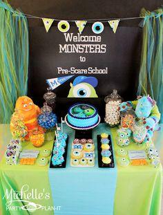 Michelle's Party Plan-It: Monsters Pre-Scare School