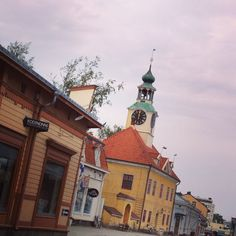 Old Rauma on May Finland Wooden Architecture, Western Coast, Old City, 18th Century, Finland, The Neighbourhood, Building, Places, Travel