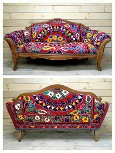 A wellchosen Kilim corner red sofa looks fantastic there is no denying it Whether you are looking for a solo feature chair or a full set of Kilim furniture this is guaran. Bohemian Furniture, Funky Furniture, Unique Furniture, Bohemian Decor, Furniture Makeover, Furniture Ideas, Furniture Cleaning, Furniture Design, Bohemian Interior