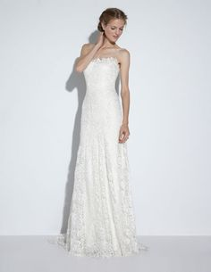 Riley gown from the 2014 Nicole Miller collection, as seen on Bride.Canada