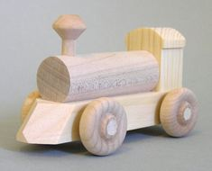 A toy garage is a simple structure to store and display collected toys. Toy garages can be played with the purpose of toy collecting these items is display. Wooden Toy Train, Push Toys, Toy Trucks, Wood Toys, Classic Toys, Diy Toys, Children's Toys, Handmade Wooden, Toy Garage
