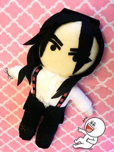 Kpop Block b Ukwon plushie plush doll Jackpot MV by kirbychan, $28.00