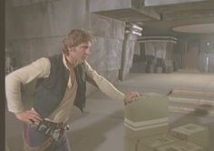 Harrison Ford at Elstree Studios in London, for the filming of Star Wars 1977 @retrostarwarsstrikesback