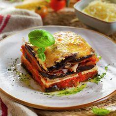 Veggie Recipes, Keto Recipes, Healthy Recipes, Vegan Vegetarian, Vegetarian Recipes, Eggplant Recipes, Sin Gluten, Ketogenic Diet, Lasagna
