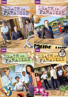 Death in Paradise Seasons 1-4 (DVD)