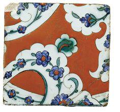 An Iznik Polychrome Tile, Turkey, circa 1585 | lot | Sotheby's