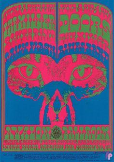 Avalon Ballroom 6/1-4/67 Doors (6/3 & 4)  Miller Blues Band  Daily Flash (6/1 & 2)