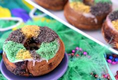 Vegan Mini King Cake
