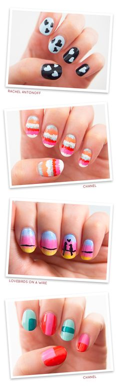 Spring Fashion Manicures | Sprinkles in Springs