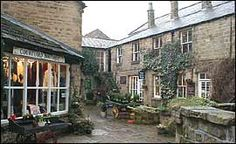 Pateley bridge scene...where my great great grandfather is from.