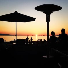 Sunset from Cactus Club in English Bay #Vancouver #Sunset Photo by morgananana_