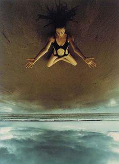 Photo: Art Kane   Cornwall Beach, 1970.