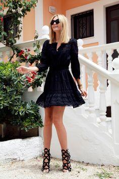 isabel marant dress | sophia webster shoes | tuula