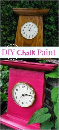 DIY Chalk Paint | www.thenymelrosefamily.com