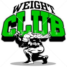 Sports Clipart Image of Fitness Club Logo Design For A Gym