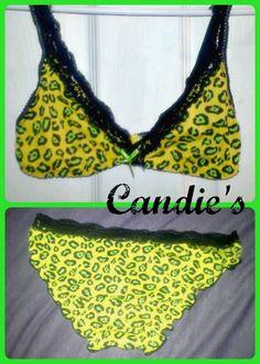 NEW Candies Womens Sleep Lingerie Lace Bra Underwear Set  #candies #BraSets