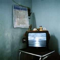Watching TV - Olivier Culmann