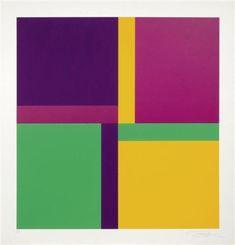 4 x 4 Bewegungen um eine Achse by Richard Paul Lohse. Concretism. abstract