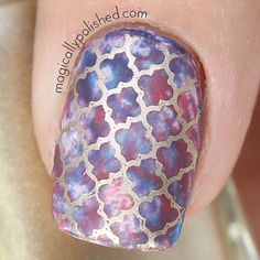 Magically Polished |Nail Art Blog|: Bundle Monster + Magically Polished: Stamping Plate XL205 Review & Giveaway,