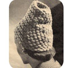 Here is an extra tall toque for your head.
