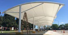 Cochera Quilmes, Zárate   WAGG   Arquitectura Textil   Soluciones Tensadas