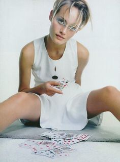 Glamour France, September 1993 Photographer : Craig McDean Model : Amber Valletta